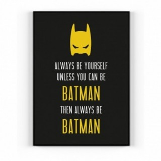 PLAKAT/POSTER ALWAYS BE BATMAN